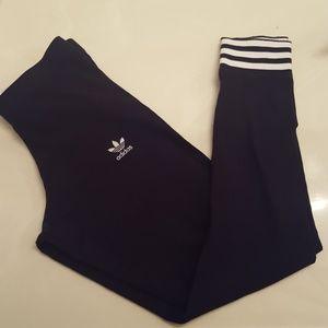 Adidas Black Leggings - Size S